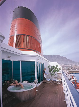 Cruises Around the World, Cunard Cruise Line